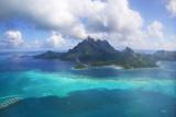 Bora Bora Island Photographic Print by M Swiet Productions