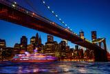 Brooklyn Bridge Photographic Print by Afton Almaraz