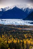 Matanuska Glacier Photographic Print by Piriya Photography