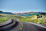 Red Canyon Seen from Highway Photographic Print by Utah-based Photographer Ryan Houston