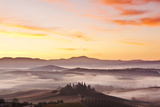 Il Belvedere on the Val D'orcia in Autumn. Photographic Print by Alex Hare