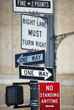 Traffic Signs Photographic Print by  Fotog