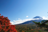 Mount Fuji in Autumn Photographic Print by  Takeshi.K