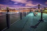 Brooklyn Bridge at Dusk Photographic Print by Christine Wehrmeier