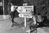 Hitch-Hiking Photographic Print by Maurice Ambler