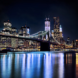 New York's Brooklyn Bridge Photographic Print by Photography by Eydie Wong