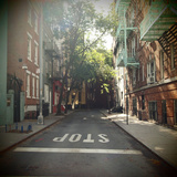 New York on Idealic Street Photographic Print by Lori Andrews