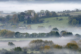 Compton Dundon, Somerset Photographic Print by Stephen Spraggon