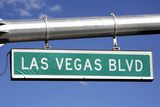 Las Vegas Boulevard Street Sign - the Strip Photographic Print by Hisham Ibrahim