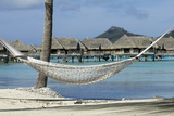 Hammock in Bora Bora Photographic Print by  GDVCOM
