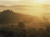 Classic Tuscany Autumn Landscape Photographic Print by Gary Yeowell