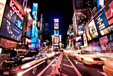 Times Square, Manhattan, New York Photographic Print by Josh Liba