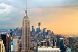 Empire State Building and One World Trade Center Photographic Print by Ryan D. Budhu