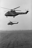 SA 330 Helicopter Photographic Print by Central Press