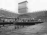 Barbican Estate Photographic Print by Roger Jackson