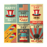 Independence Day Prints by  elfivetrov