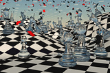 Fantasy Chess Photographic Print by  rolffimages