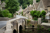 Castle Combe, Cotswolds Village Photographic Print by  pljvv