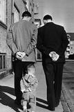Like Father like Son Fotografie-Druck von  Keystone