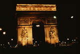 Arc De Triomphe Photographic Print by Harvey Meston