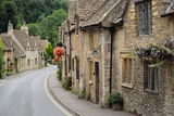 Castle Combe, Cotswolds Cottages Photographic Print by  pljvv