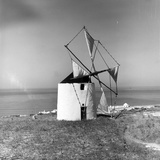 Ericeira Windmill Photographic Print by L. V. Clark