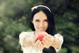 Snow White Photographic Print by Nicoleta Ionescu
