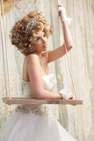 Pretty Young Bride Photographic Print by  mimagephotography
