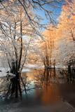 Paysage de rivière Reproduction photographique par  siilur