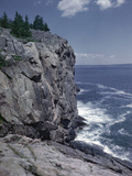 Great Head Cliff at Acadia National Park, Maine Photographic Print by Frederic Lewis