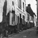 Street in Senlis Photographic Print by L. V. Clark