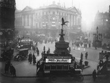 Eros at Piccadilly Photographic Print by Topical Press Agency