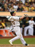 Sep 21, 2014, Philadelphia Phillies vs Oakland Athletics - Josh Donaldson Photographic Print by Thearon W. Henderson