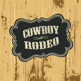 Grunge Background with Wild West Styled Label, Raster Version. Poster by  pashabo