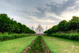 Taj Mahal Viewed from Methab Bagh Photographic Print by Emanuele Siracusa