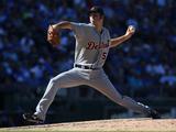 Sep 21, 2014, Detroit Tigers vs Kansas City Royals - Kyle Ryan Photographic Print by Ed Zurga