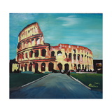 Monumental Coliseum in Rome Italy Prints by Markus Bleichner