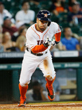 Sep 21, 2014, Seattle Mariners vs Houston Astros - Jose Altuve Photographic Print by Scott Halleran