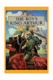Boy's King Arthur Kunst af Newell Convers Wyeth