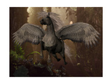 Flying Pegasus Print by Corey Ford