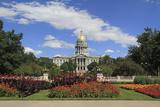 Colorado State Capitol Building Photographic Print by John Kieffer