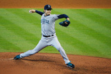 Sep 21, 2014, Seattle Mariners vs Houston Astros - Hisashi Iwakuma Photographic Print by Scott Halleran