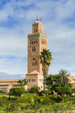 Minaret of the Koutoubia Mosque, Marrakesh Photographic Print by Nico Tondini