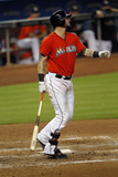 Sep 21, 2014, Washington Nationals vs Miami Marlins - Jarrod Saltalamacchia Photographic Print by Eliot J. Schechter