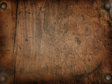 Vintage Wood Background Photographic Print by  Zibedik