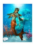Seawater Mermaid Art by Corey Ford