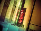 Cafe Sign Photographic Print by Owen Smith