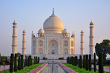 Taj Mahal Sunrise Photographic Print by Never let Fear stop creativity