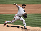 Sep 21, 2014, San Francisco Giants vs San Diego Padres - Ryan Vogelsong Photographic Print by Denis Poroy