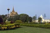 Silver Pagoda, Royal Palace, Phnom Penh Photographic Print by Photo by D. Johnson